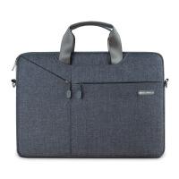 15.6寸电脑包手提男12苹果13 14 15寸macbook air单肩pro笔记本包 灰色