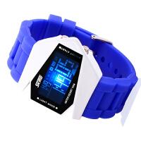 AOTU 时刻美丽时尚多功能硅胶电子手表飞机果冻手表