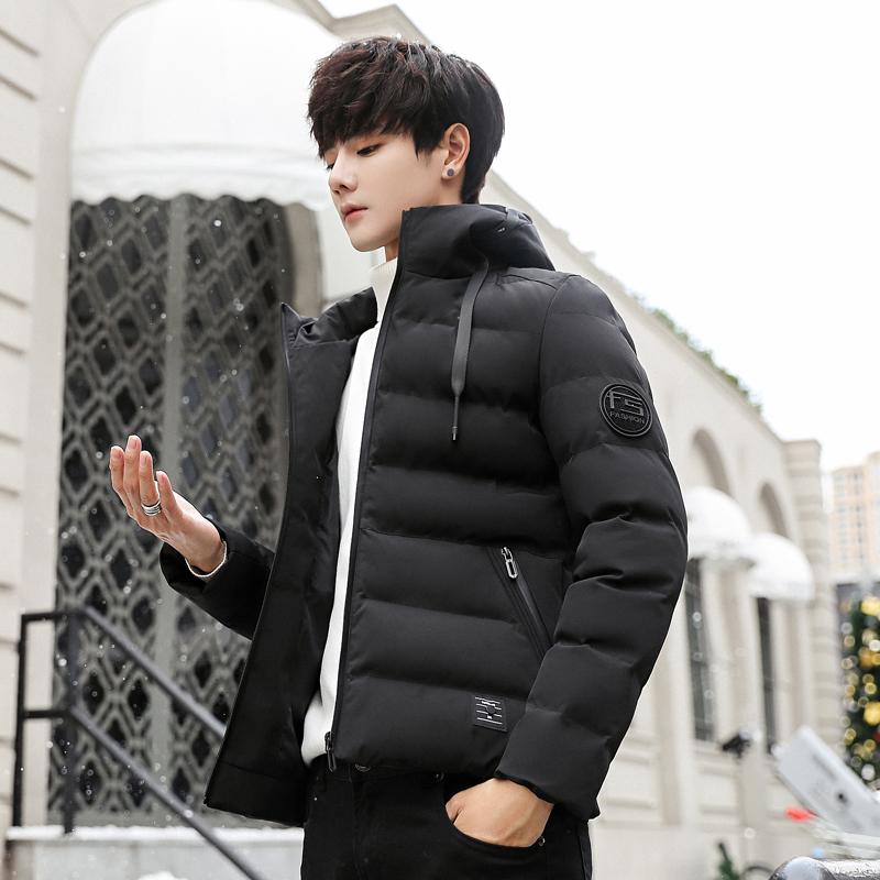 男士棉衣2019冬季新款羽绒棉服潮牌棉袄加厚冬天休闲衣服冬装外套
