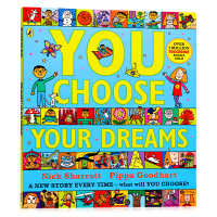 【满300-100】超凡想象益智大书 想象 You Choose Your Dreams 英文原版绘本 想象力培养 名家