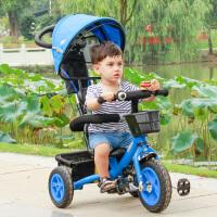 儿童三轮车宝宝自行车1-3-6婴儿手推车童车小孩脚踏车