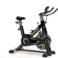 动感单车家用健身车带音乐减肥器健身器材室内锻炼脚踏运动自行车 1_黑色款