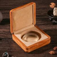 非洲花梨木紫檀纯实木质手镯盒首饰盒翡翠玉器手链手串珠宝收纳盒