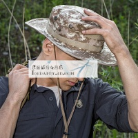 隐匿者户外奔尼帽 军迷用品迷彩帽 男 防晒遮阳渔夫帽 奔尼帽