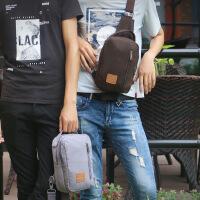 男士胸包休闲包时尚韩版潮斜挎女单肩包户外运动时尚小背包手机包挎包