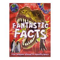 Fantastic Facts 精彩事实 软精装儿童科普 英文原版进口全彩插图 地球与空间 史前生命 动物 历史与科学