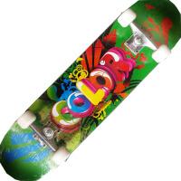中级内凹滑板四轮极限滑板 双翘滑板 儿童公路滑板 78CM