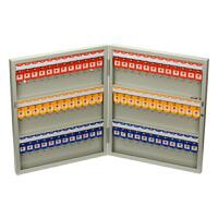 72位钥匙箱壁挂式写字楼房产公司多功能钥匙归类管理柜钢板