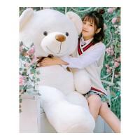 泰迪熊�公仔玩偶狗熊布娃娃抱抱熊毛�q玩具大熊圣�Q�生日�Y物女