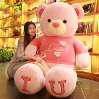 熊�公仔抱抱熊熊娃娃特大�抱抱熊玩偶公仔泰迪熊布娃娃毛�q玩具��巾熊送女生日�Y物