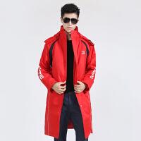 运动棉衣男中长款加厚中国队综训保暖棉大衣外套冬装新款