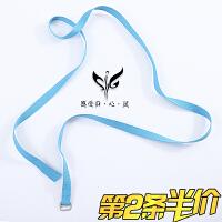 伸展带绳瑜伽绳 高含棉艾扬格拉力带 瑜伽训练瑜伽配件