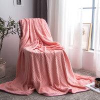 加厚毛毯空调珊瑚绒毯子冬季毛巾被午睡加绒床单人宿舍法兰绒被子父亲节