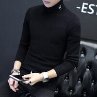 高领毛衣男针织衫韩版线衣男士冬季潮流修身型百搭线衫加厚打底衫