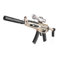 *连发电动儿童玩具枪水弹抢狙击枪软弹枪手动水晶蛋水弹抢 9903大型电动版 金色