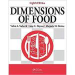 【预订】Dimensions of Food, Eighth Edition 9781138631267