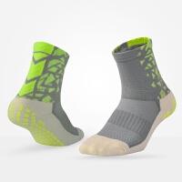 足球防滑袜神袜男款运动袜加厚毛巾底 中筒防滑袜子吸汗耐磨短袜