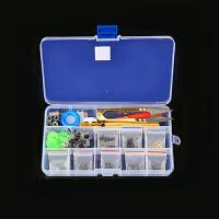 漂盒套装 小号大全装备渔具鱼具用品套装全套浮漂自动超轻免超硬工具盒HW