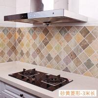 厨房防油贴纸家用耐高温油烟机灶台用自粘大理石瓷砖壁纸防水墙贴