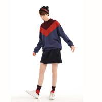 活动到手价56丨红袖女装纯色中腰不规则A字短裙半身裙