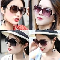 太阳镜女士韩版潮防紫外线圆脸女式墨镜眼睛网红偏光眼镜