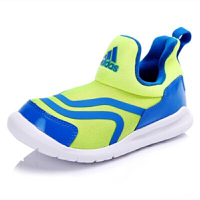 阿迪达斯(adidas)BB1776 专柜同款男小童海马轻便运动训练鞋黄荧光