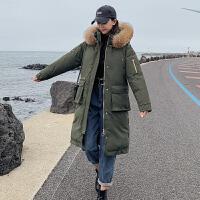 【年货节 直降到底】棉服女冬棉袄外套中长款2020新款休闲外套宽松ins大码毛领棉衣