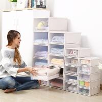 幸阁 收纳盒特大号抽屉式塑料衣物收纳柜加厚衣物玩具收纳箱储物整理箱