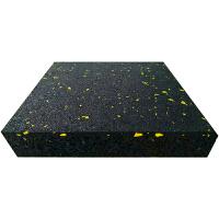 健身房力量区防震垫减震地胶环保隔音缓冲垫PVC运动地板