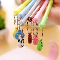 包邮 创意水笔可爱中性笔日韩卡通文具礼品笔细针管笔芯奖品 10支装