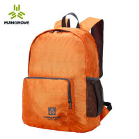 简约户外20L皮肤包超轻可折叠双肩背包便携旅行包