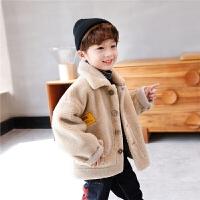 男童外套冬装儿童中大童棉衣秋冬款