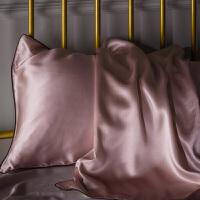 纯色单人枕头套丝绸枕巾48x74一对拍2 48cmX74cm