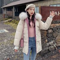 【极速发货 超低价格】休闲棉服少女秋冬装棉袄2020年新款潮女装外套学生韩版中长款棉衣
