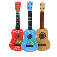 儿童仿真吉他玩具儿童玩具小吉他乐器礼物可弹奏尤克里里初学者