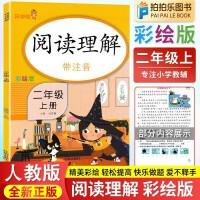 二年级阅读理解训练语文人教版部编版 2020春新版二年级下册彩绘注音版