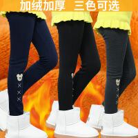 女童打底裤冬装外穿保暖秋冬童裤儿童裤子