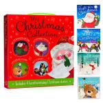 圣诞动物故事礼盒 4册手提套装 My Christmas Collection Box Set 英文原版绘本what'