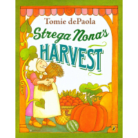 【5折封顶】#美国进口 纽约时报最畅销书 Strega Nona's Harvest 巫婆奶奶的大丰收 平装 4-9岁原装进口故事绘本