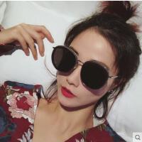 新款ins墨镜女韩版潮gm太阳镜圆脸网红大脸街拍防紫外线眼镜户外新品网红同款