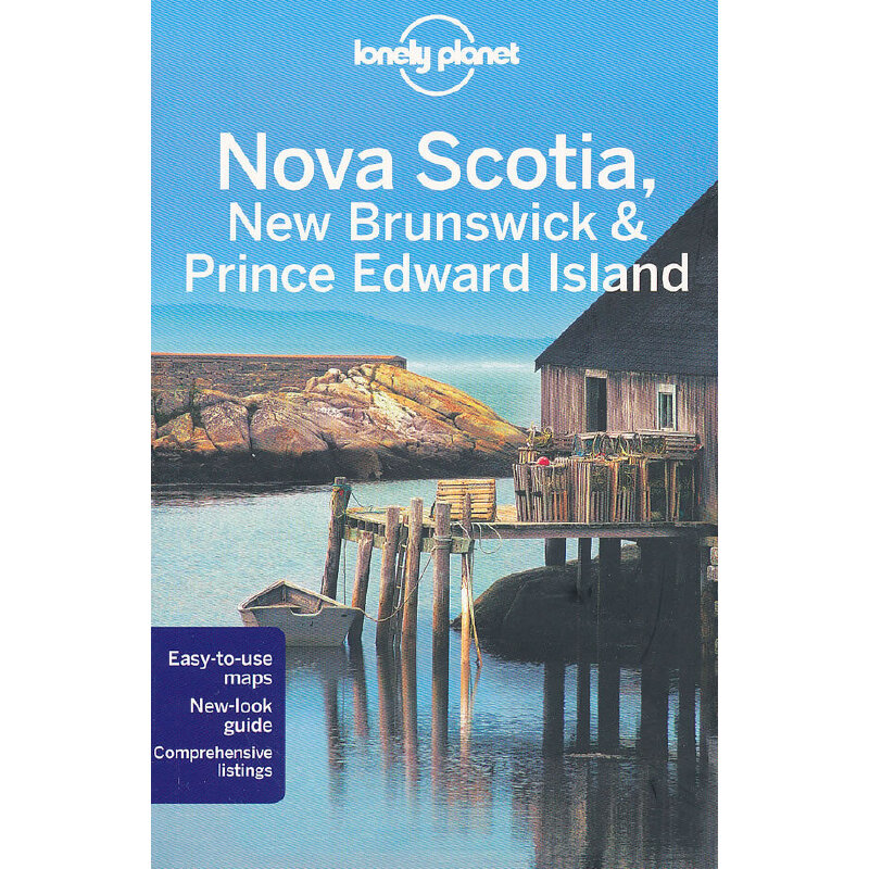 Nova Scotia, New Brunswick & Prince Ed 2(ISBN=9781741791716) 英文原版