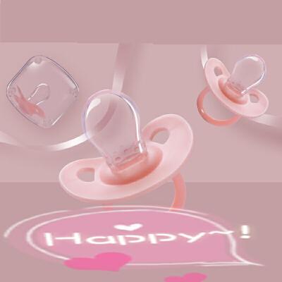 婴儿安睡型安抚奶嘴0-6-18个月新生儿超软硅胶宝宝断奶神器安慰型 x8x Q弹硅胶材质 缓解长牙不适