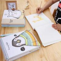 得力学生手绘素描本美术绘画空白纸速写本图画本涂鸦画画彩铅本子