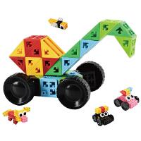 品果积木欧几里得儿童6面拼插拼搭益智积木玩具3岁以上玩具