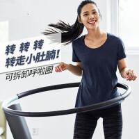 户外呼啦圈可拆卸健身男女儿童瘦腰收腹加重健身锻炼减肥圈