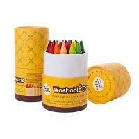 可水洗宝宝油画棒涂鸦绘画彩色画笔儿童蜡笔16/24色