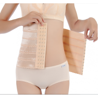 产后收腹带束腰带女瘦腰减肚子剖腹产束缚塑身衣美体腰封