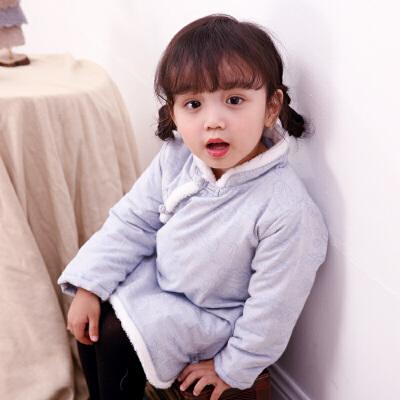实拍 中式唐装女改良日常女童宝宝加厚加棉棉衣外套旗袍春装 一般在付款后3-90天左右发货,具体发货时间请以与客服协商的时间为准