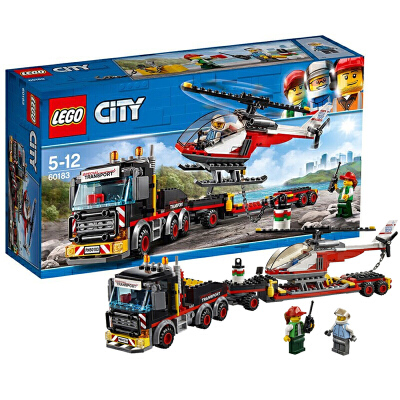 【当当自营】LEGO乐高直升机运输车 60183材质安全妈妈放心 小灵感大快乐 爱拼才会赢