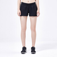 adidas阿迪达斯女装运动短裤2017新款跑步运动服AZ2938